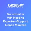 Raidboxes Supportanzeige