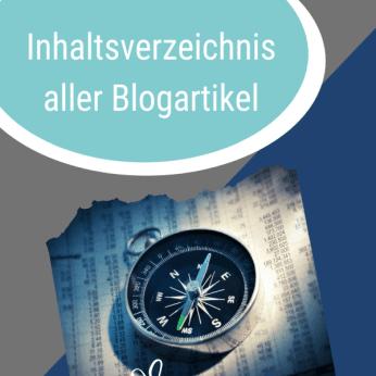 Inhaltsverzeichnis Blog Beitragsbild