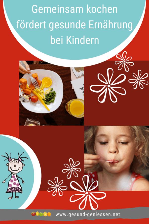 Pin Kinder für gesunde Ernährung sensibilisieren