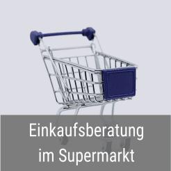 Einkaufsberatung Supermarkt