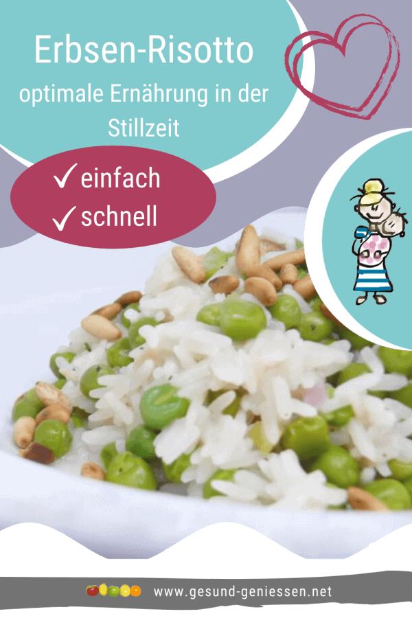 Pin Rezept Erbsen-Risotto