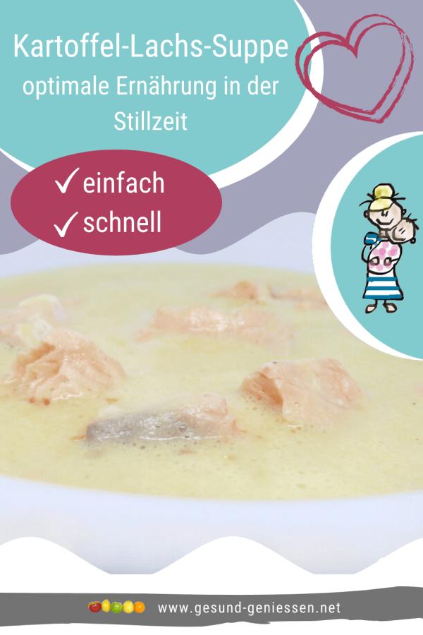 Pin Rezept Kartoffel-Lachs-Suppe