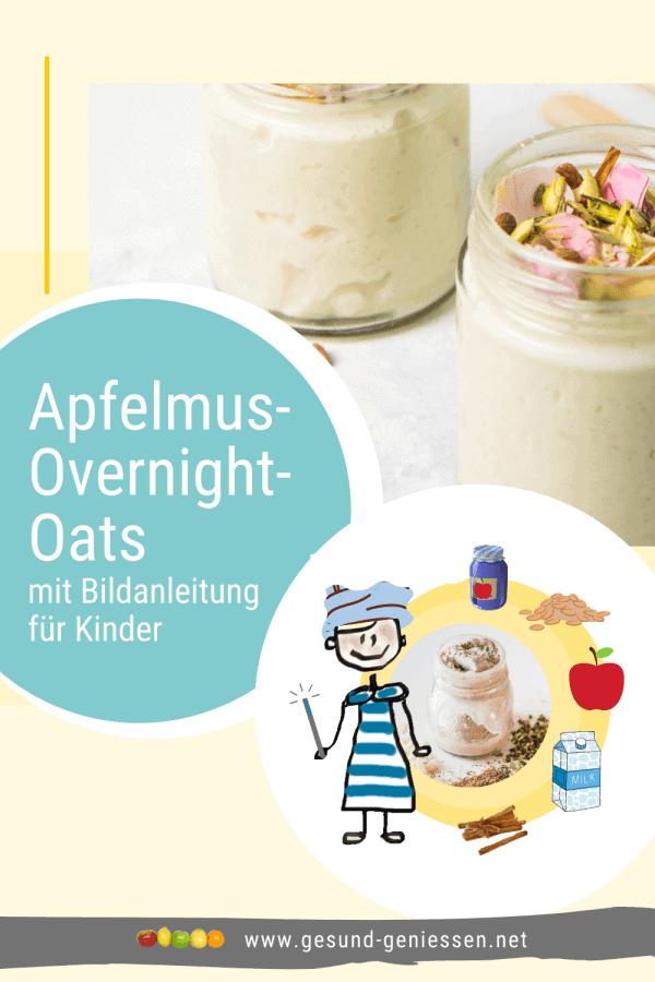 Pin Rezept Apfelmus-Overnight-Oats