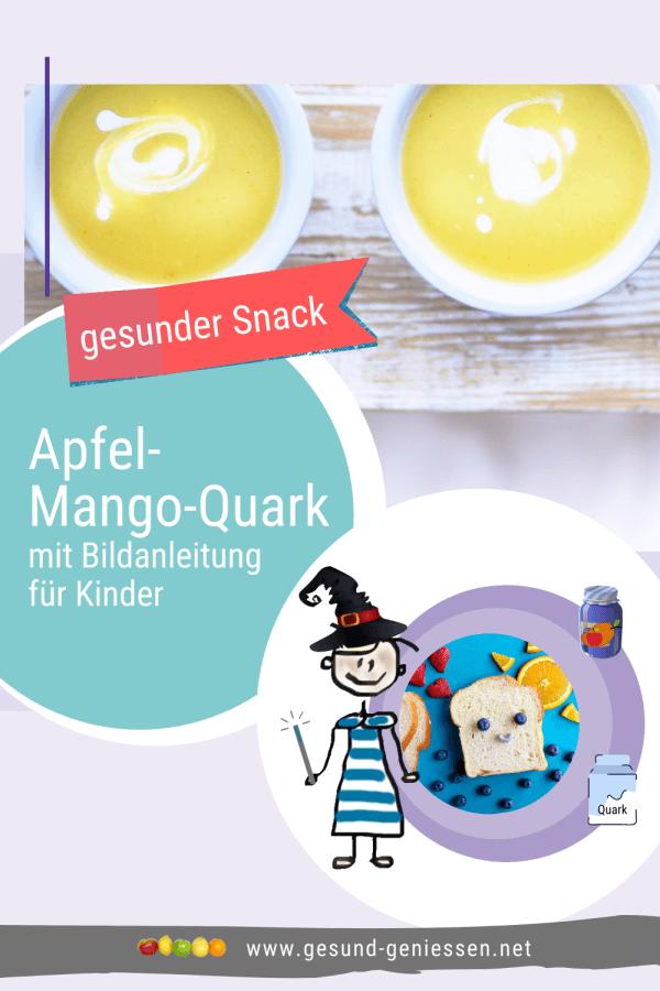 Pin Rezept Apfel-Mango-Quark