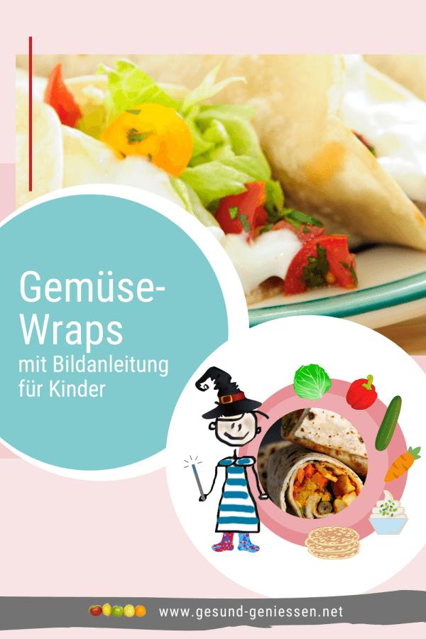 Pin Rezept Gemüse-Wraps