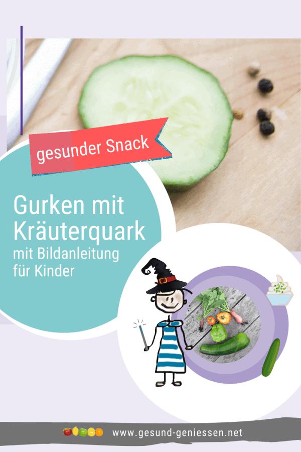Pin Rezept Gurken mit Kräuterquark