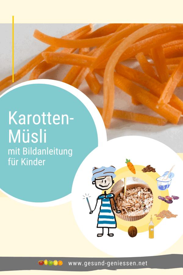 Pin Rezept Karotten-Müsli