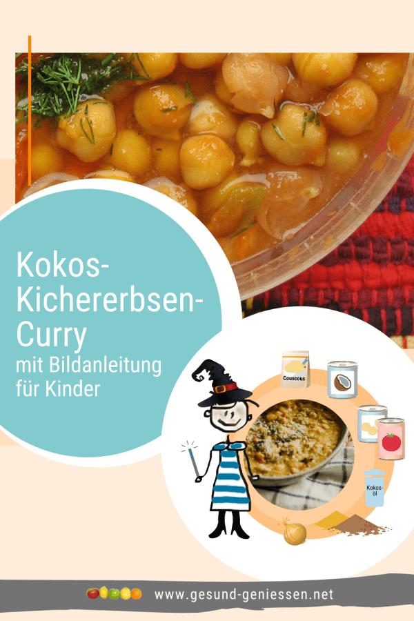 Pin Rezept Kokos-Kichererbsen-Curry
