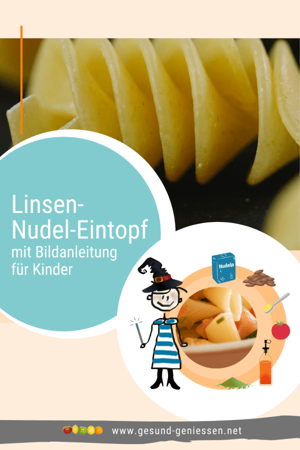 Pin Rezept Linsen-Nudel-Eintopf