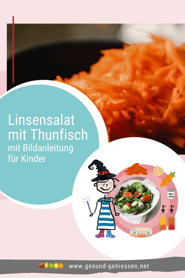 Pin Rezept Linsensalat mit Thunfisch