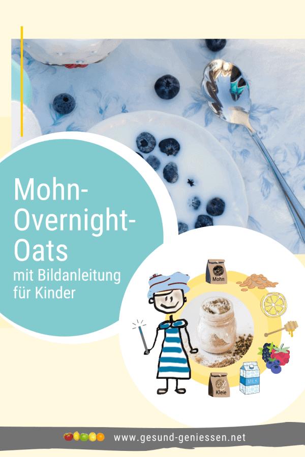 Pin Rezept Mohn-Overnight-Oats