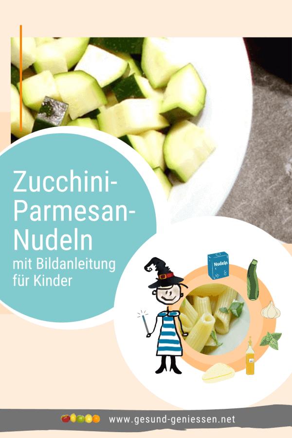 Pin Rezept Zucchini-Parmesan-Nudeln