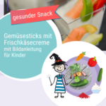 Rezept Gemüsesticks mit Frischkäsecreme