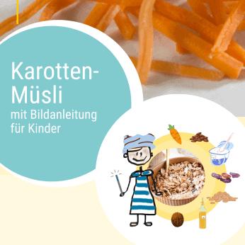 Rezept Karotten-Müsli