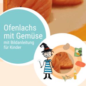 Rezept Ofenlachs mit Gemüse