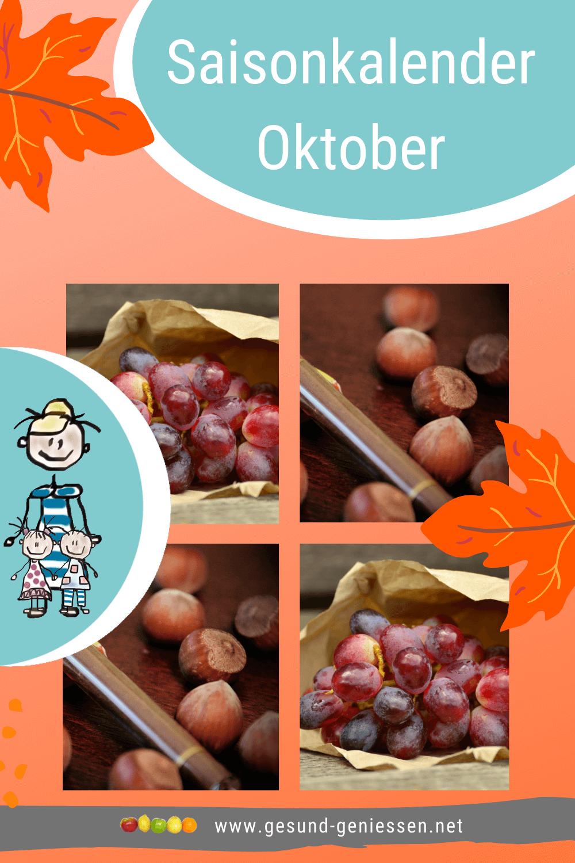 Pin Saisonkalender Oktober