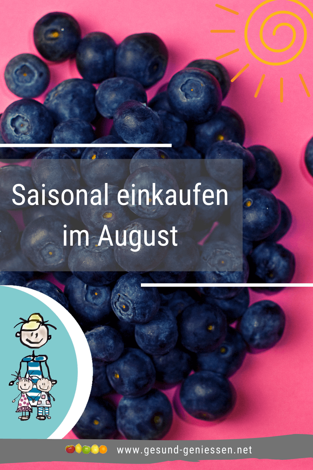 Pin Saisonkalender August