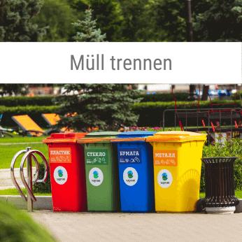Müll trennen-Spiel
