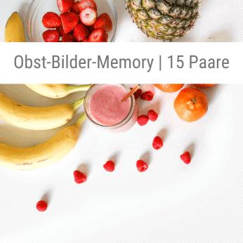 Obst-Bilder-Memory-Spiel