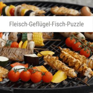 Fleisch-Geflügel-Fisch-Puzzle-Spiel